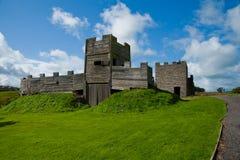 Gatehouse della fortificazione di Vindolanda Fotografie Stock Libere da Diritti