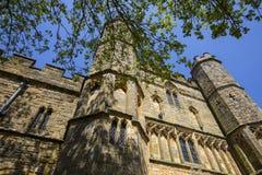 Gatehouse der Kampf-Abtei in Sussex Stockbilder