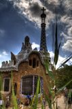 Gatehouse, Parc Guell Royalty Free Stock Photography