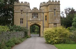 The Gatehouse of Sudeley castle, Winchcombe, England Stock Photography