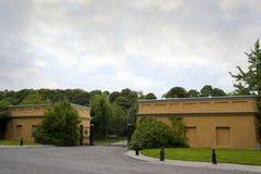 The gatehouse to the Ballynatray estate Royalty Free Stock Photo