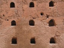 Gaten in de Muur Royalty-vrije Stock Afbeeldingen