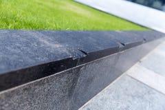 Gaten in het met een skateboard rijden van oppervlakte voor het met een skateboard rijden van beperkingen royalty-vrije stock foto's