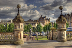 Gates. Taken in Paisley glasgow scotland Royalty Free Stock Images