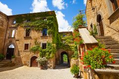 Gates of Bagnoregio Royalty Free Stock Photo