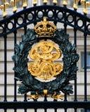 Gates of Buckingham Palace Stock Photography