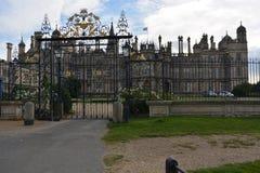 Gates at Burghley House Royalty Free Stock Photo