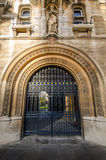 Gates of Cambridge University Royalty Free Stock Image