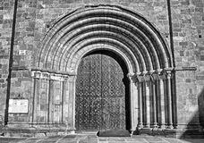 Gates of Church Royalty Free Stock Photography