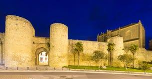 Gates of city wall. Ronda Royalty Free Stock Photo