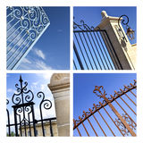 Gates Stock Image