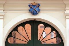 Collegium Maius. Gates of Collegium Maiusin  Jagiellonian University campus,  Krakow, Poland Stock Photography