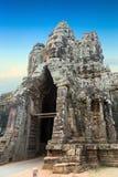 Gates, door Angkor Wat, Cambodia. Stock Photography