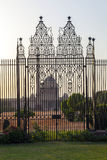 Gates at entrance to House of Parliament, Delhi Royalty Free Stock Photography
