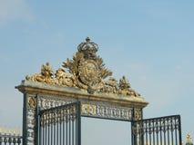 Gates at the entrance of tuileries jardin. These are the amazing gates at the entrance of tuileries jardin, Paris, France Royalty Free Stock Photos