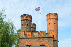 Gates of the fortress Friedrichsburg Royalty Free Stock Photography