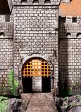 Gates of the fortress Stock Images