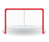 Gates goalie for the game of hockey vector illustr Stock Image