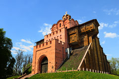 gates guld- Royaltyfri Fotografi