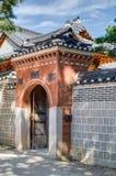Gates in Gyeongbokgung Palace, Seoul, South  Korea Stock Photo