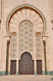Gates of the The Hassan II Mosque, located in Casablanca Royalty Free Stock Photography