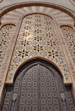 Gates of the The Hassan II Mosque, located in Casablanca Royalty Free Stock Photos