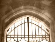 gates himmel Arkivfoto
