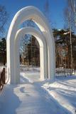Gates of the Jewish cemetery Stock Photos