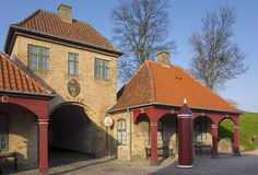 Gates Kastellet Royalty Free Stock Photography