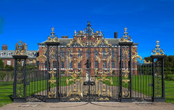 The gates of Kensington Palace in Hyde Park in London, England Stock Photo