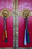 Gates of Ki monastry Stock Photos
