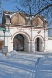 gates kolomenskoe Arkivbild
