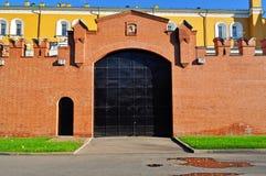 Gates in the Kremlin Royalty Free Stock Photo