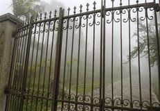 Gates of a Mansion Stock Images