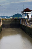 Gates of the Miraflores Locks Royalty Free Stock Images