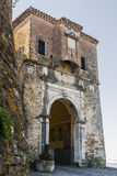 Gates Motovun - the town and fortress in Istria Royalty Free Stock Photos