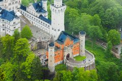 Free Gates Of Neuschwanstein Stock Photos - 38747803