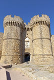 Gates of the Old Town of Rhodes, Greece. Royalty Free Stock Photos