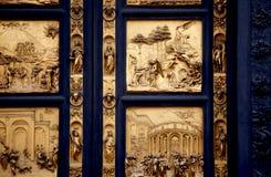 Gates of Paradise, Florence. ,Italy Stock Photos