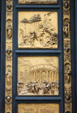 Gates of Paradise in Florence. The Gates of Paradise in the Baptistery of Saint John in Florence, Italy Royalty Free Stock Photography