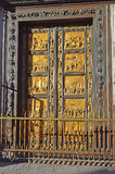 Gates of Paradise by Lorenzo Ghiberti, Florence Royalty Free Stock Photo