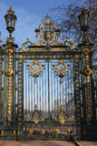 Gates of the Parc de la Tête d'Or Stock Images