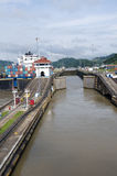 Gates of Pedro Miguel Locks Royalty Free Stock Photos