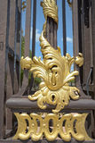 Gates on Place Stanislas in Nancy. Decoration of gates on Place Stanislas in Nancy Stock Images