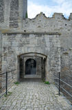 Gates of Rudelsburg castle, Germany Royalty Free Stock Photography