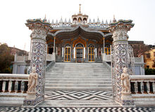 Gates to the beautiful Jain temple in Kolkata Stock Photography
