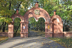 Gates to the Church of Beheading of St. John the Forerunner in Kolomenskoye Stock Photography
