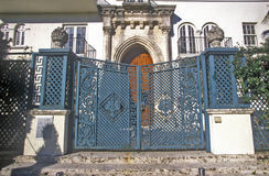 Gates to former house of Gianni Versace in south beach, Miami Beach, Florida Royalty Free Stock Photos