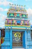 The gates to Murugan Temple Royalty Free Stock Image