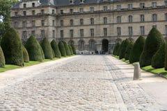 Gates to the museum complex Les Invalides. Paris Stock Images